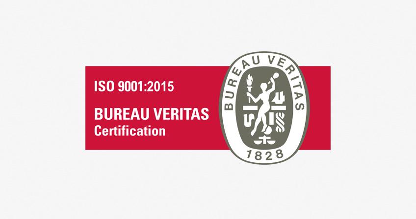 Certifié ISO 9001 : 2015